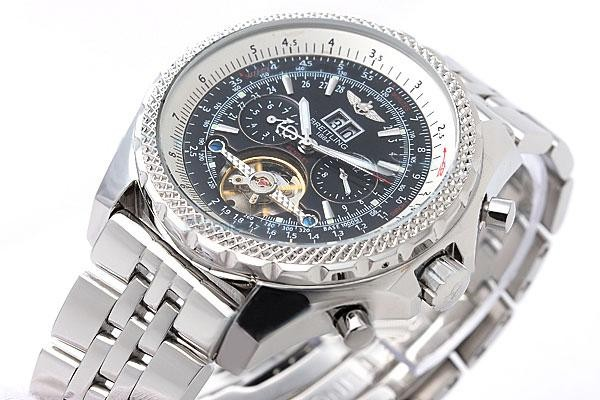 Réplica de Relógio Breitling Bentley Black Edition