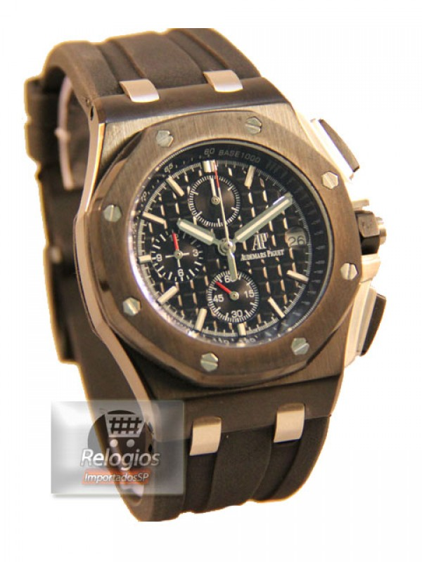 Réplica de Relógios Audemars Piguet Royal Oak All Black Limited