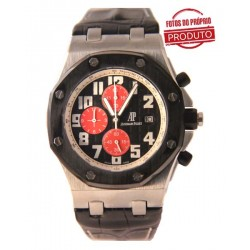 Réplica de Relógio Audemars Piguet Oak Black Red