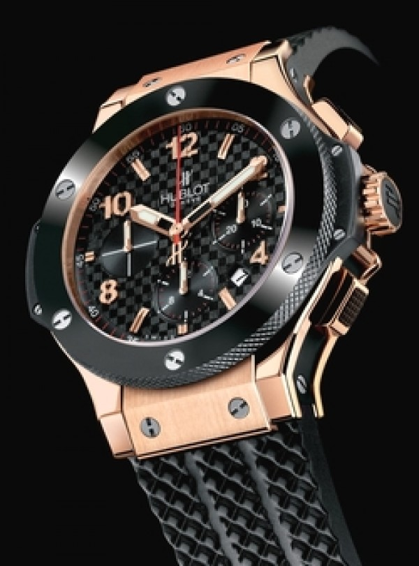 Réplica de Relógio Hublot Big Band Red Gold Black Ceramic
