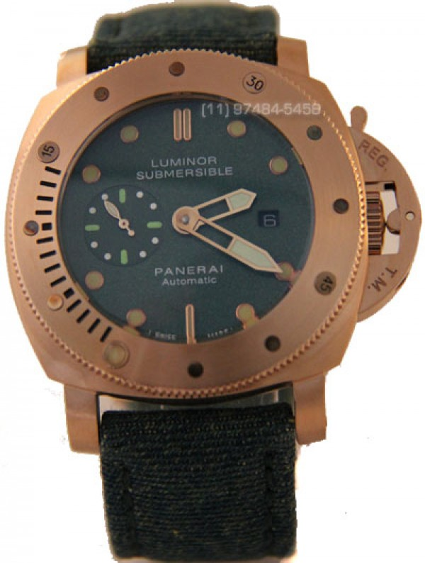 Panerai Submersible Rose Verde