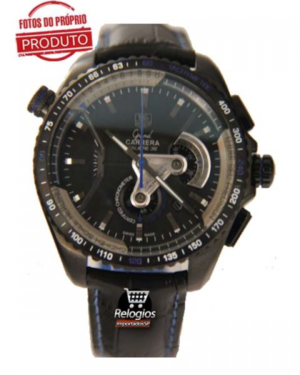 Tag Heuer Réplica Grand Carrera 36Rs Limited Edition Blue