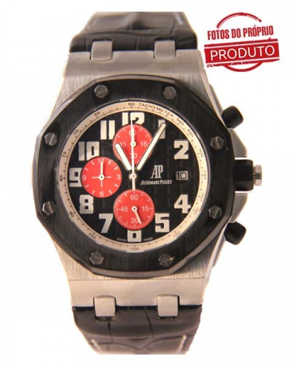 Réplica de Relógio Audemars Piguet Oak Black Red 705