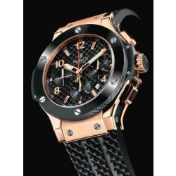 31347aad561 Réplicas de Relógios Hublot Big Band Red Gold Black Ceramic