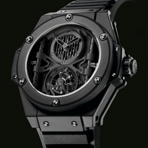 Réplica de Relógio Hublot King Power All Black Ediiton Limited 1065