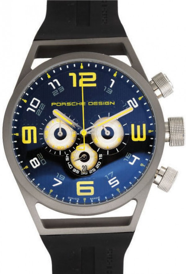 Réplica de Relógio Porche Design World Timer Yellow 321