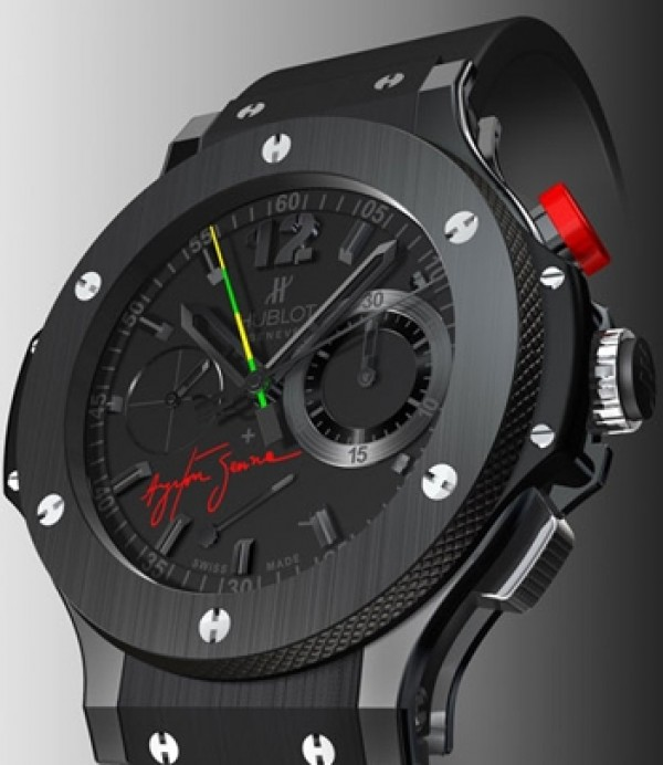 Réplica de Relógio Hublot Big Band Black Ceramic Ayrton Senna