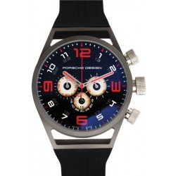 Réplica de Relógio Porche Design World Timer Red