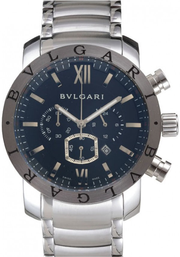 Relogios Bulgari Chronometro Black