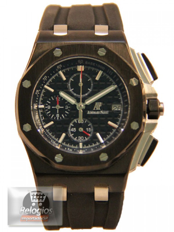 Réplica de Relógio Audemars Piguet Royal Oak All Black Limited