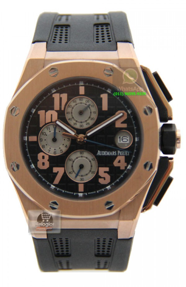 eff8f69e615 ... Réplica de Relógio Audemars Piguet Royal Oak Offshore Lebron James 1118  ...