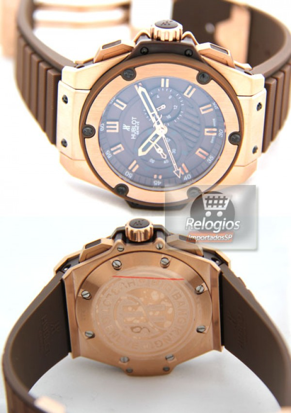 Réplica de Relógio Hublot King Power Chocolate 1087